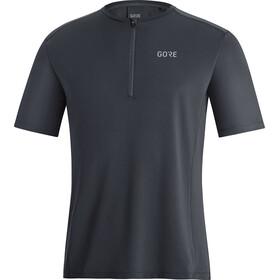 GORE WEAR Flow Zip Shirt Men, negro